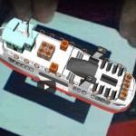 Primo esperimento pubblico di Reltà Aumentata in 3D : Clodia battello