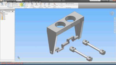Inventor Autodesk Secondo Tutorial Video – 1a Parte di 6