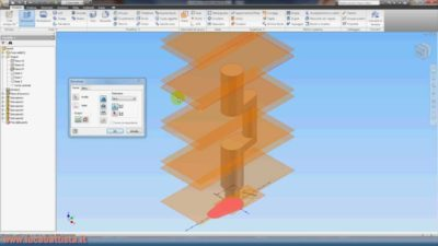 Inventor Autodesk Secondo Tutorial Video – 3a Parte di 6